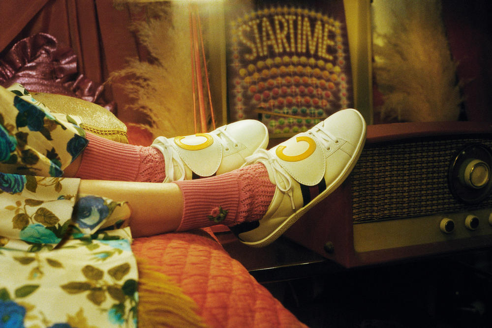GUCCI DIY Programme Ace Sneaker Ophidia Tote Bag Editorial Petra Collins