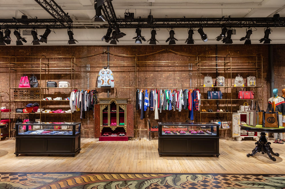Gucci Wooster SoHo New York Store