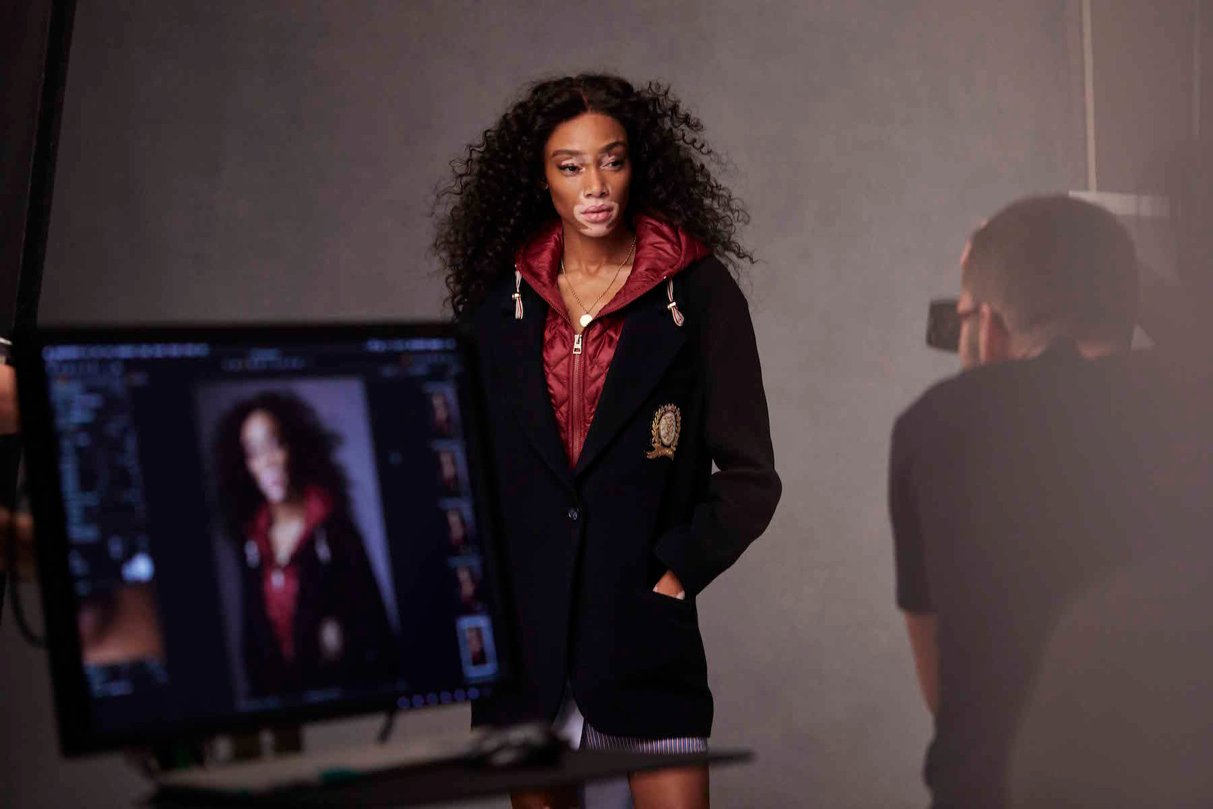 Hailey Baldwin Winnie Harlow for Tommy Hilfiger