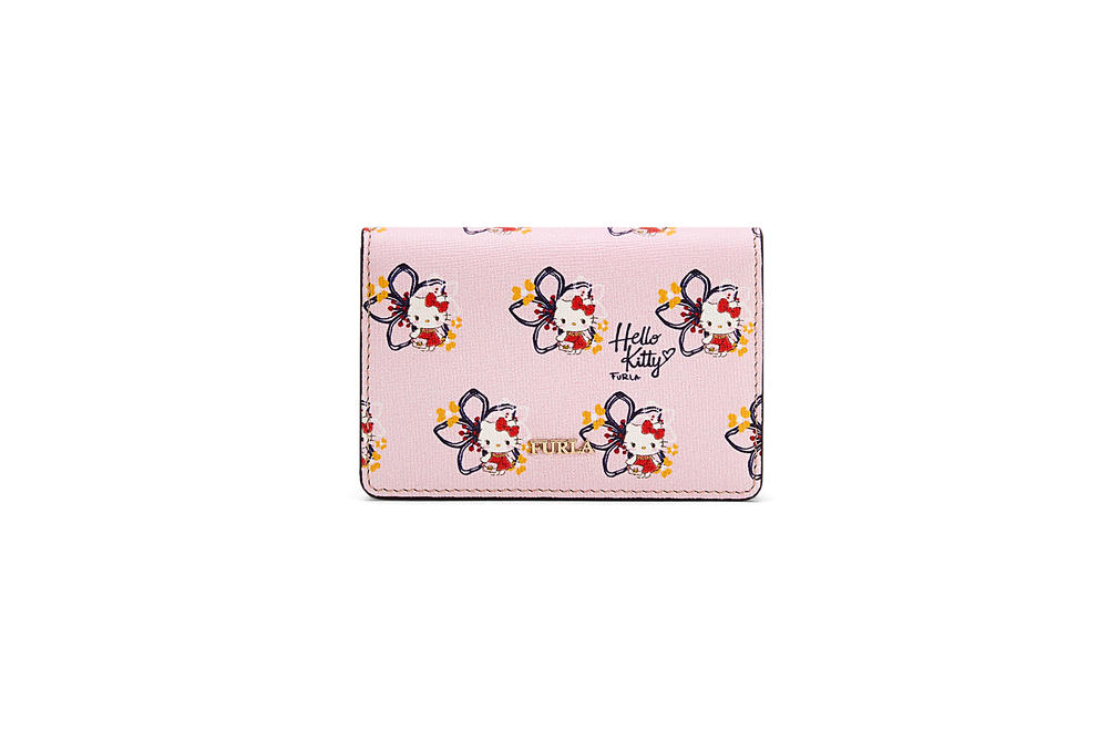 hello kitty furla sanrio collaboration handbags coin purses wallets