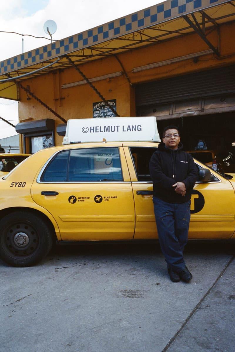 Helmut Lang Global Taxi Initiative New York Hoodie Black