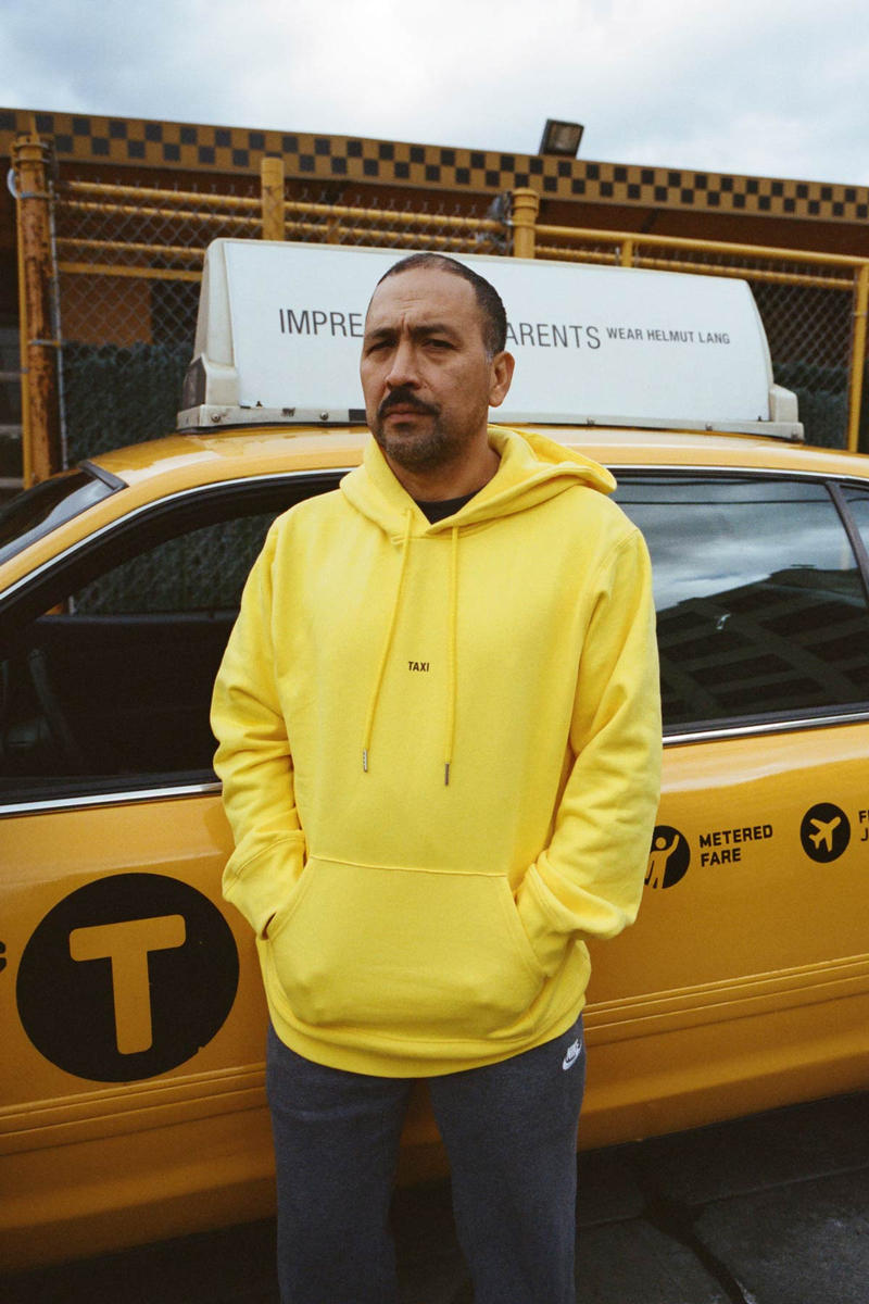 Helmut Lang Global Taxi Initiative New York Hoodie Yellow