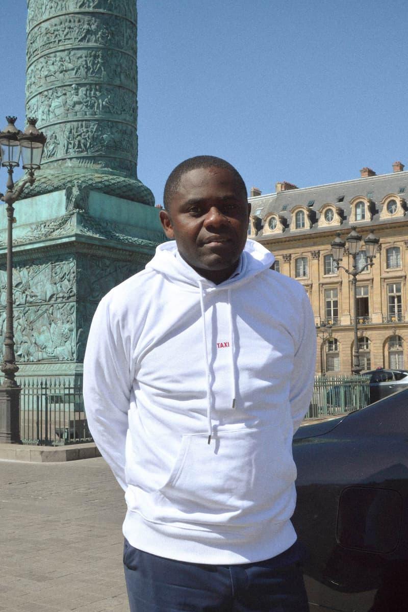 Helmut Lang Global Taxi Initiative Paris Hoodie White