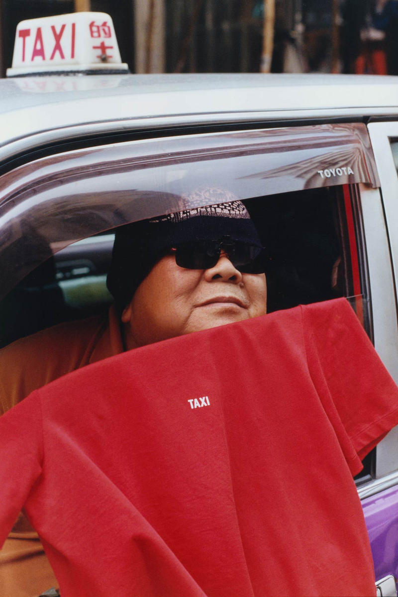 Helmut Lang Global Taxi Initiative Hong Kong T-shirt Red