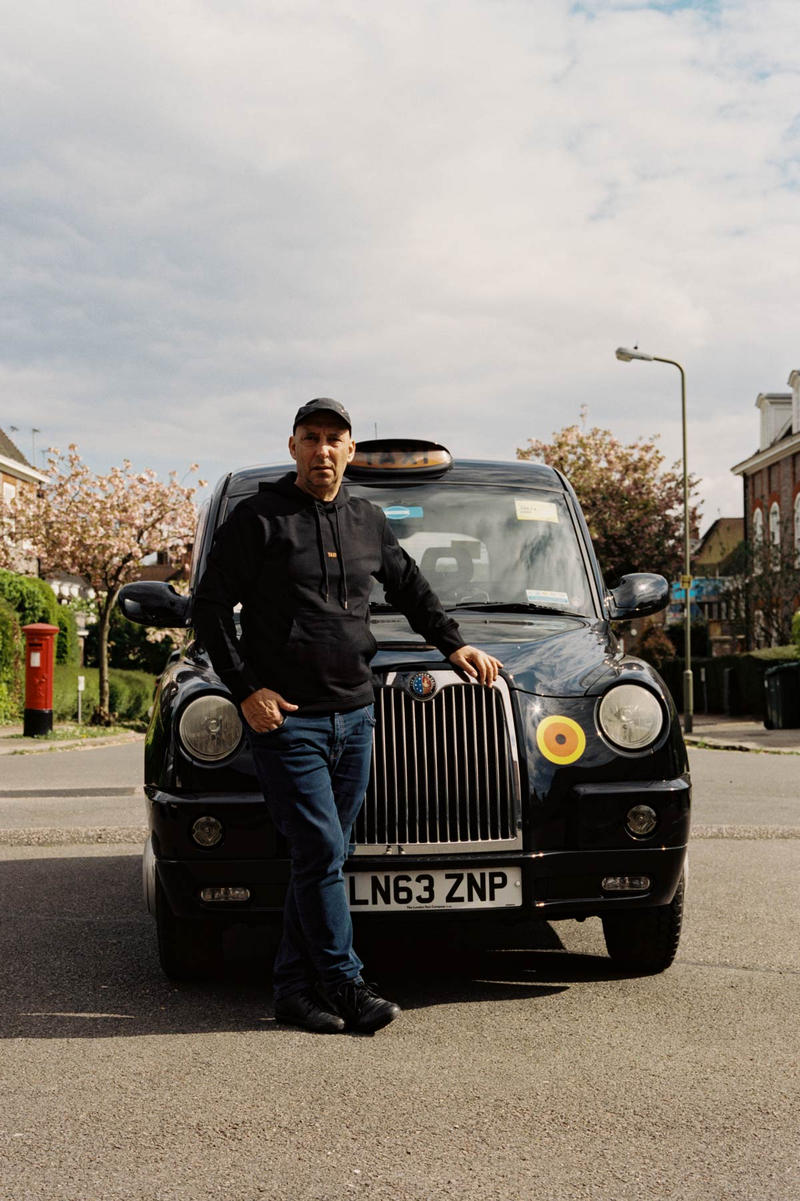 Helmut Lang Global Taxi Initiative London Hoodie Black