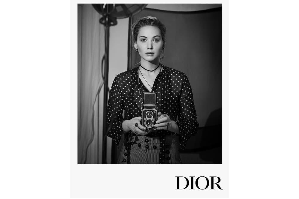 Jennifer Lawrence Dior Pre-Fall 2018 Campaign Maria Grazia Chiuri