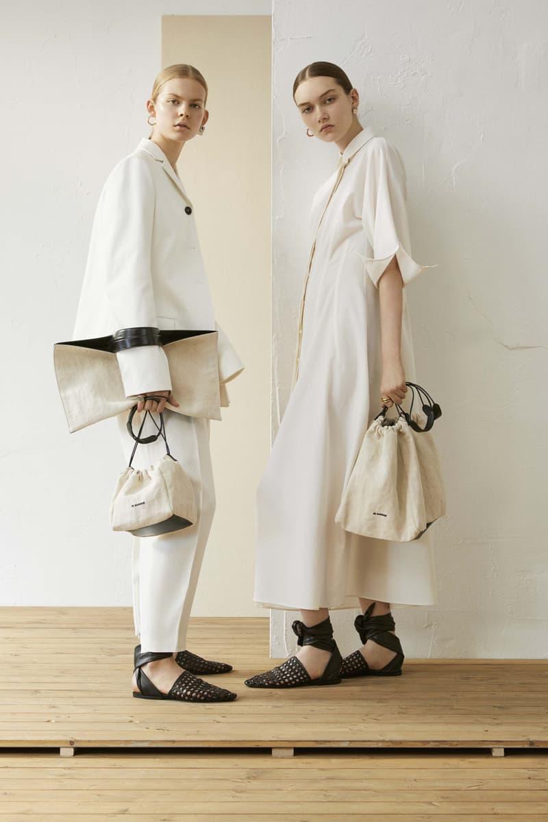 Jil Sander Resort 2019 Collection Lookbook Blazer Pants Dress White