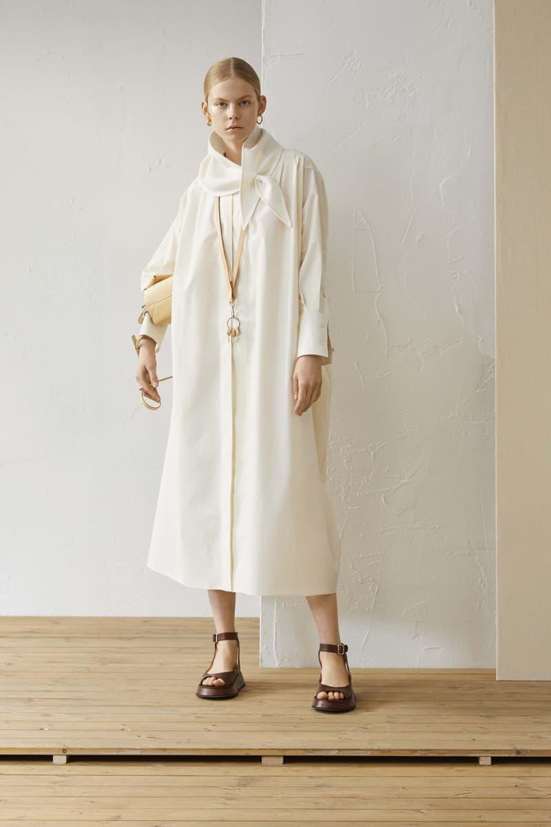 Jil Sander Resort 2019 Collection Lookbook Coat White