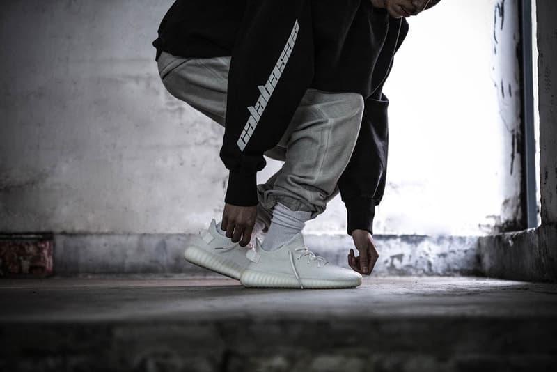 "Kanye West adidas YEEZY BOOST 350 V2 ""Cream White"""