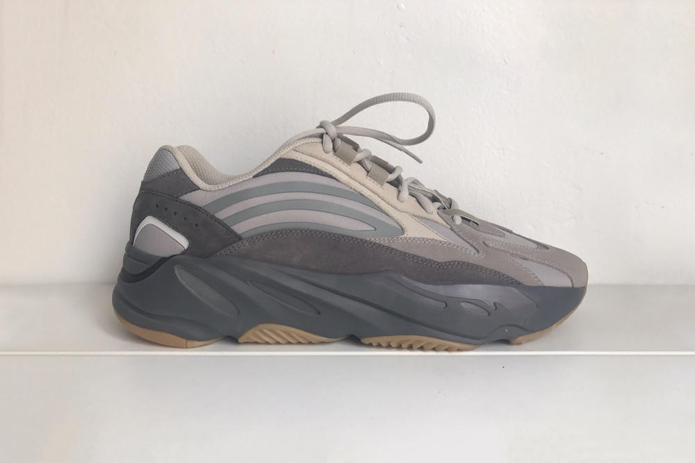 yeezy boost 700 v2 colorway kanye west twitter grey beige gum