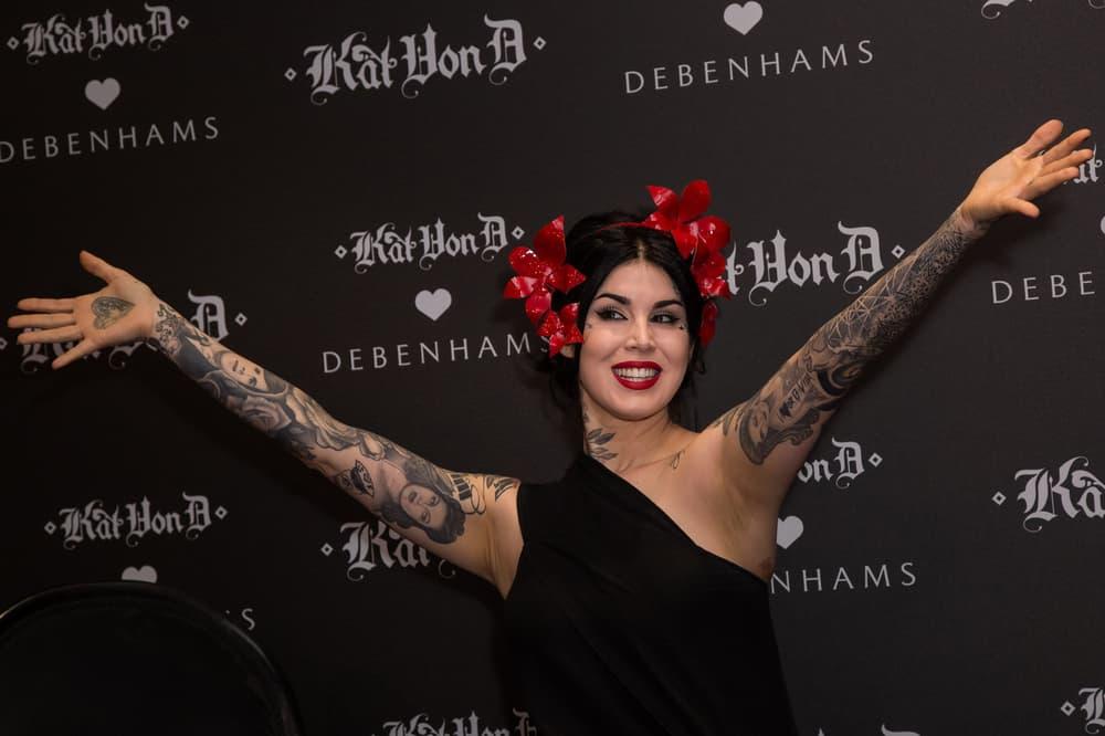 Kat Von D Beauty Launch