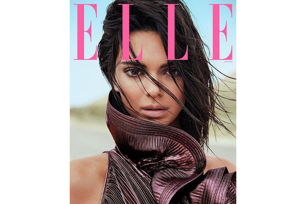 Kendall Jenner ELLE June 2018 Cover
