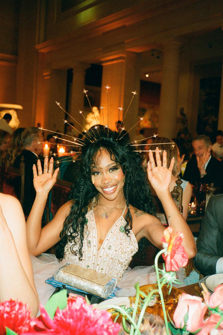 Kendall Jenner Met Gala 2018 Personal Photos SZA