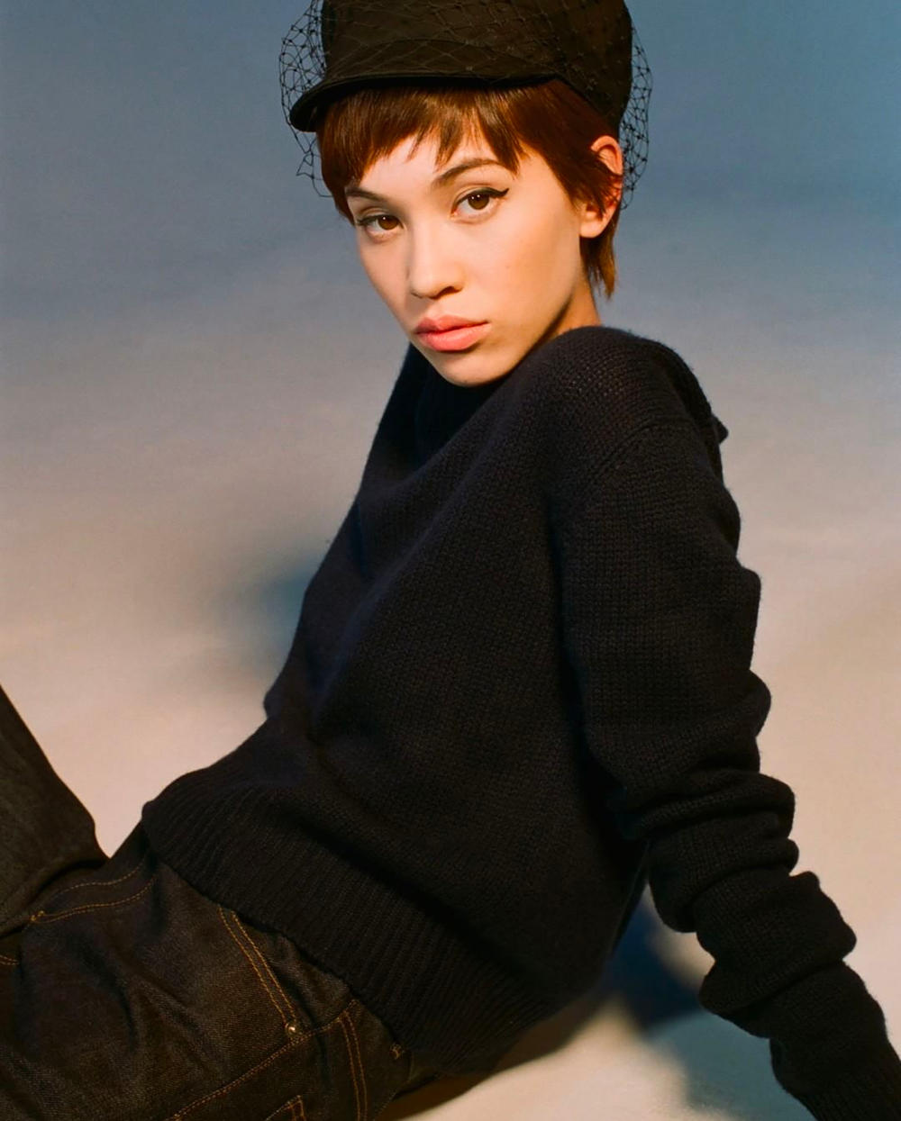 Kiko Mizuhara Christian Dior Tokyo Exclusive Campaign Beret Hat