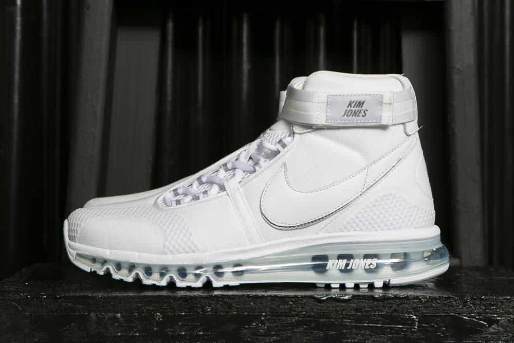 1028c42e43 kim jones nike nikelab collaboration white sneaker apparel dover street  market london