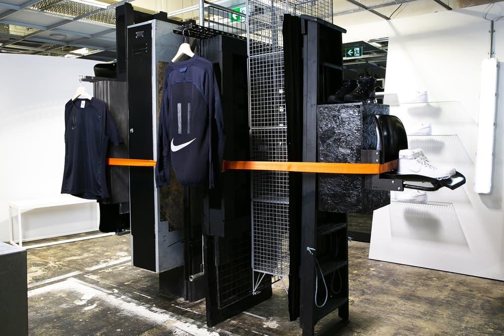 kim jones nike nikelab collaboration white sneaker apparel dover street market london