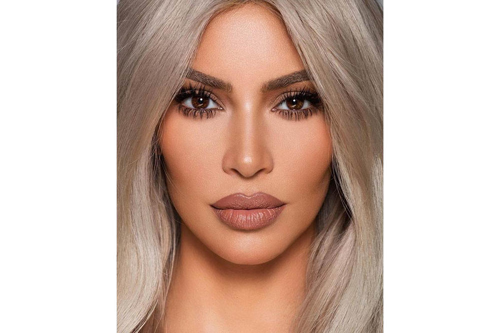 67fbaf5b8078b Kim Kardashian KKW Beauty Creme Lipstick Lip Liner Nude
