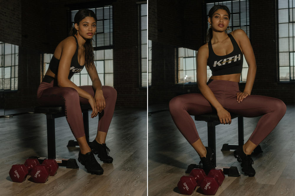 KITH Women Activewear Range Danielle Herrington Sports Illustrated Workout Clothes Fitness Fitspo
