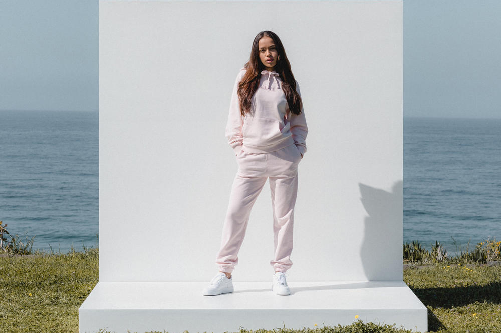 Kith Women Spring 2018 Classics Collection Baxter Hoodie Wooster Sweatpant Baby Pink