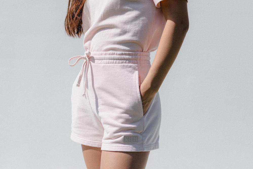 Kith Women Spring 2018 Classics Collection Elizabeth Shorts Baby Pink