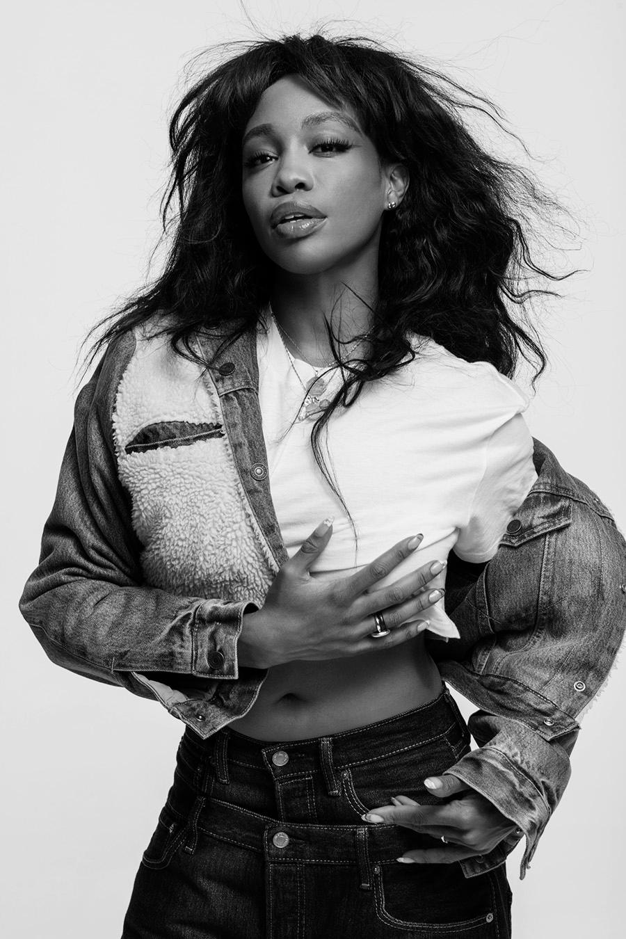 Levi's 501 Campaign With SZA and Hailey Baldwin