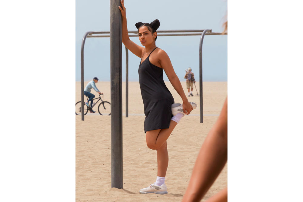 Lil Miquela in Outdoor Voices' Latest Editorial CGI influencer workout clothing apparel exercise
