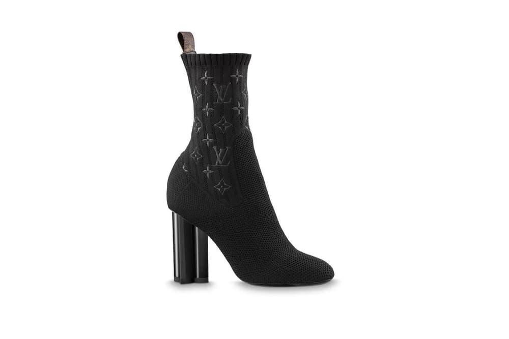 Louis Vuitton Silhouette Monogrammed Ankle Boots Black Khaki Navy Blue