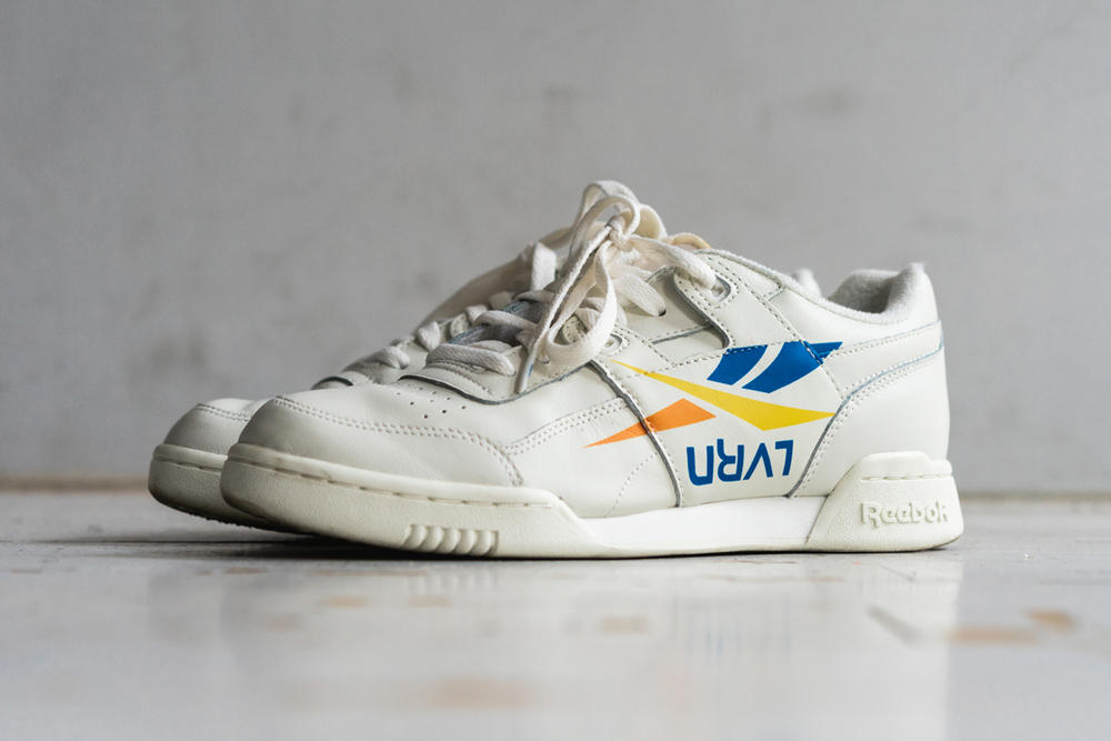 7770f130959 LVRN x FRKO x Reebok Workout Plus Off-White