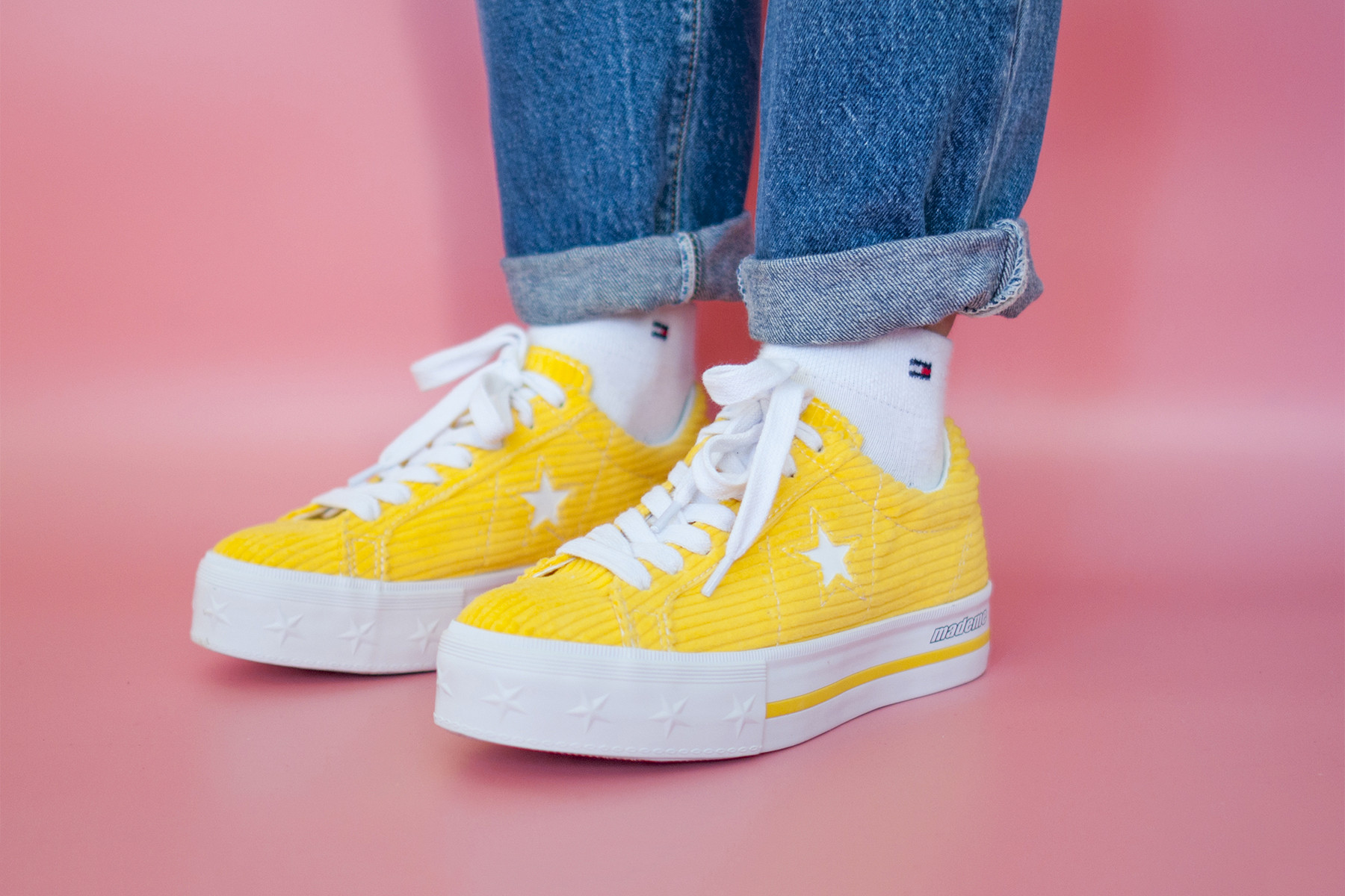 On-Foot Look at MadeMe x Converse's New