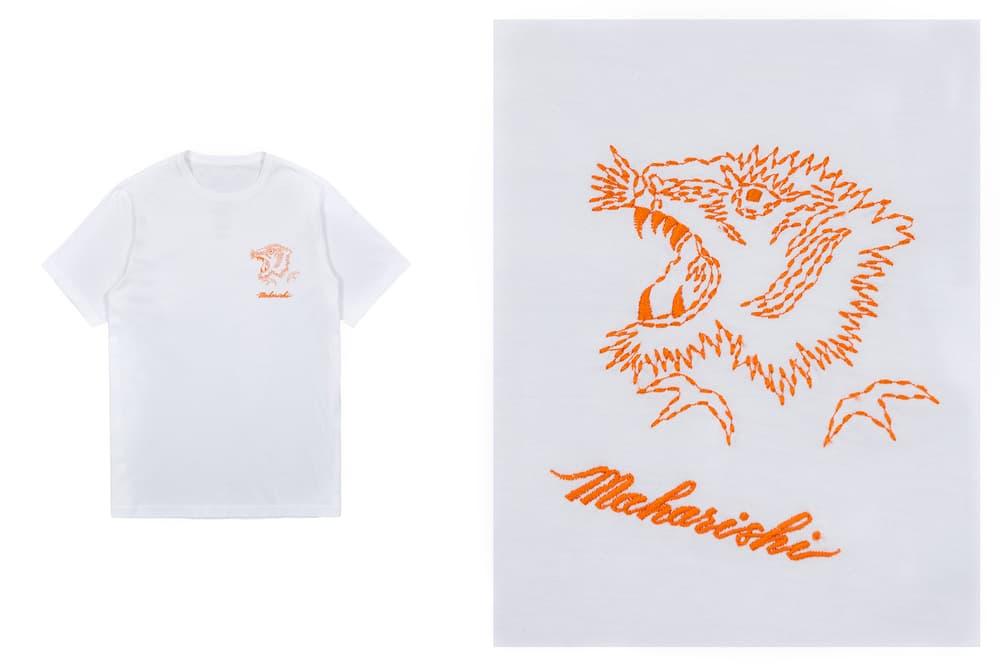 maharishi Spring Summer 2018 T Shirt White