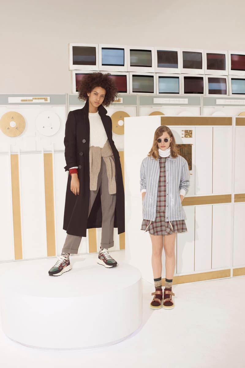 Maison Kitsune Fall/Winter 2018 Lookbook Fashion Collection Prints Patterns Material