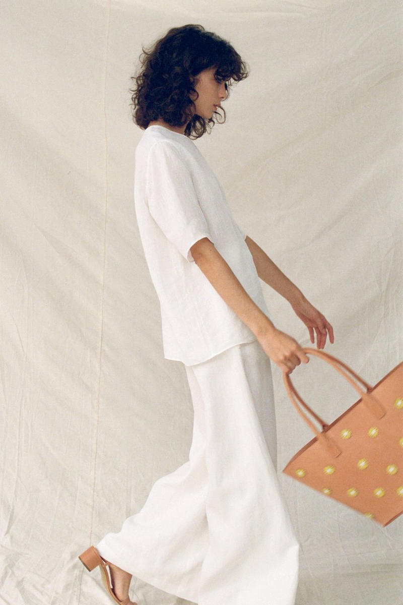 Mansur Gavriel Pre-Fall 2018 Collection Pastel Hues Minimal Timeless Staple Pieces