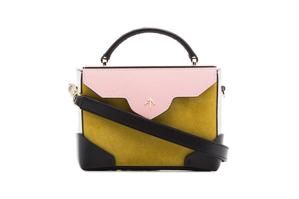 MANU Atelier Micro Bold Bag Yellow Bubblegum