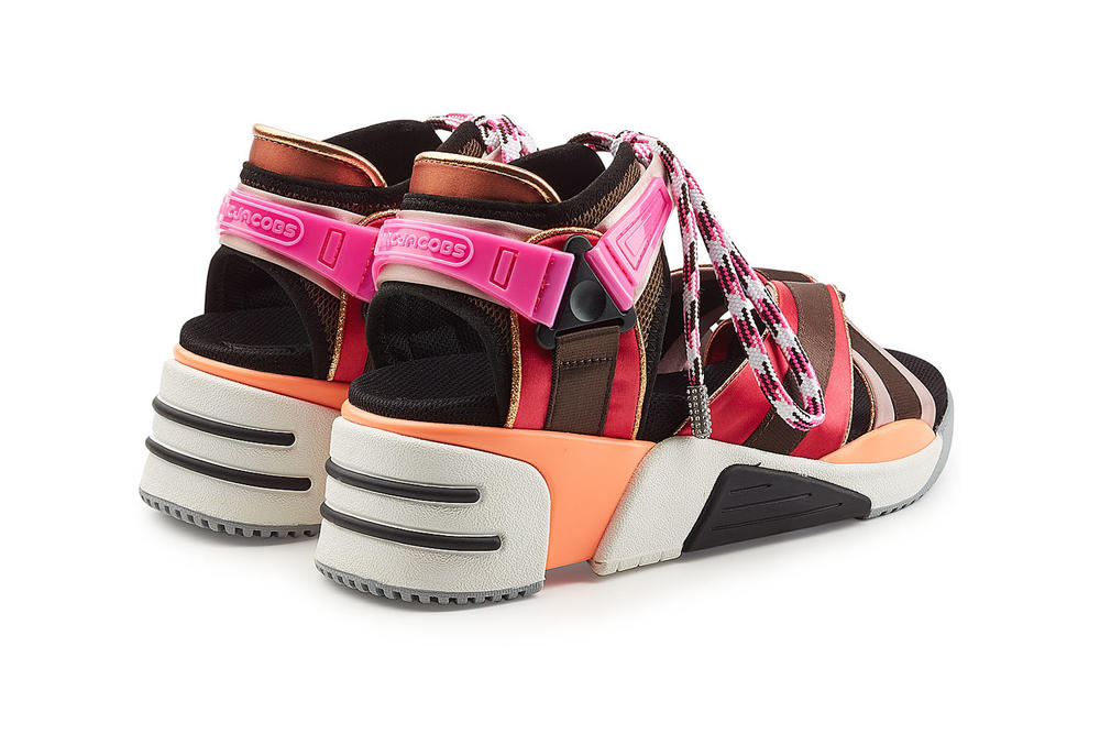Marc Jacobs Somewhere Sport Sandals Multicolored