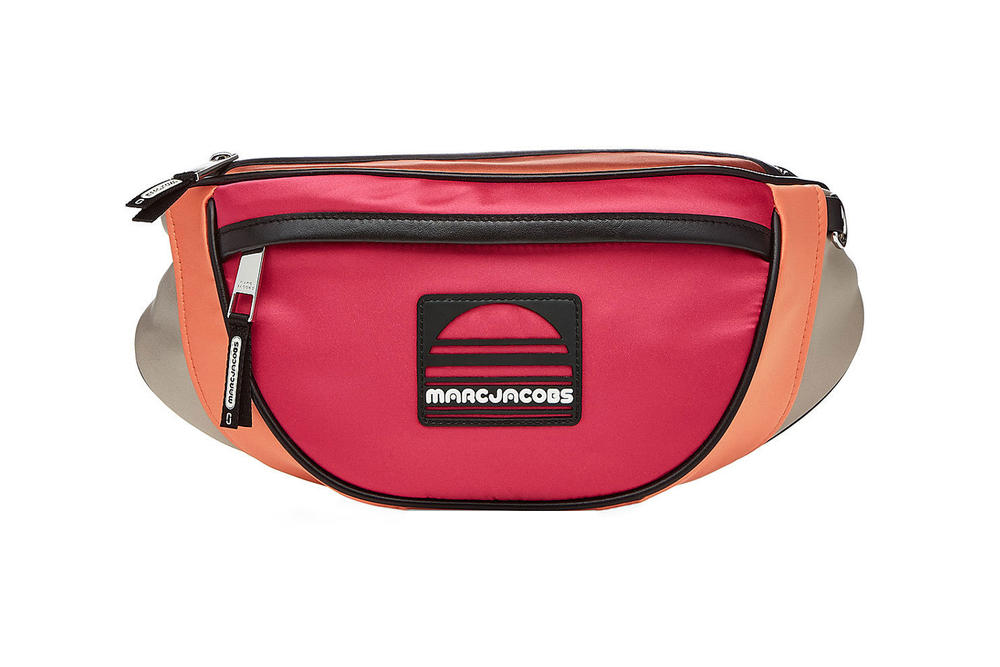 Marc Jacobs Sport Belt Bag Multicolored Magenta Orange
