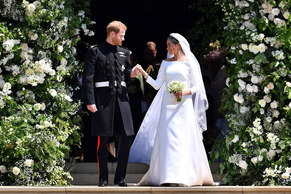 Meghan Markle Prince Harry Royal Wedding Givenchy Dress Clare Waight Keller