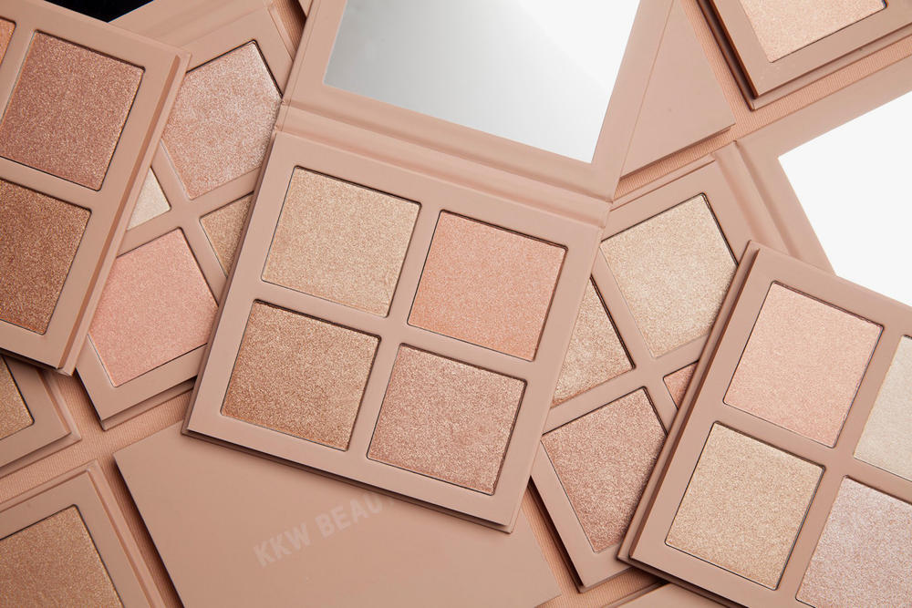 KKW Beauty Kim Kardashian Highlighter Palettes Makeup Cosmetics