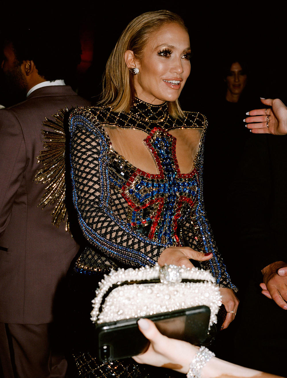 Met Gala 2018 Jennifer Lopez Cross Dress Candid Film Photo