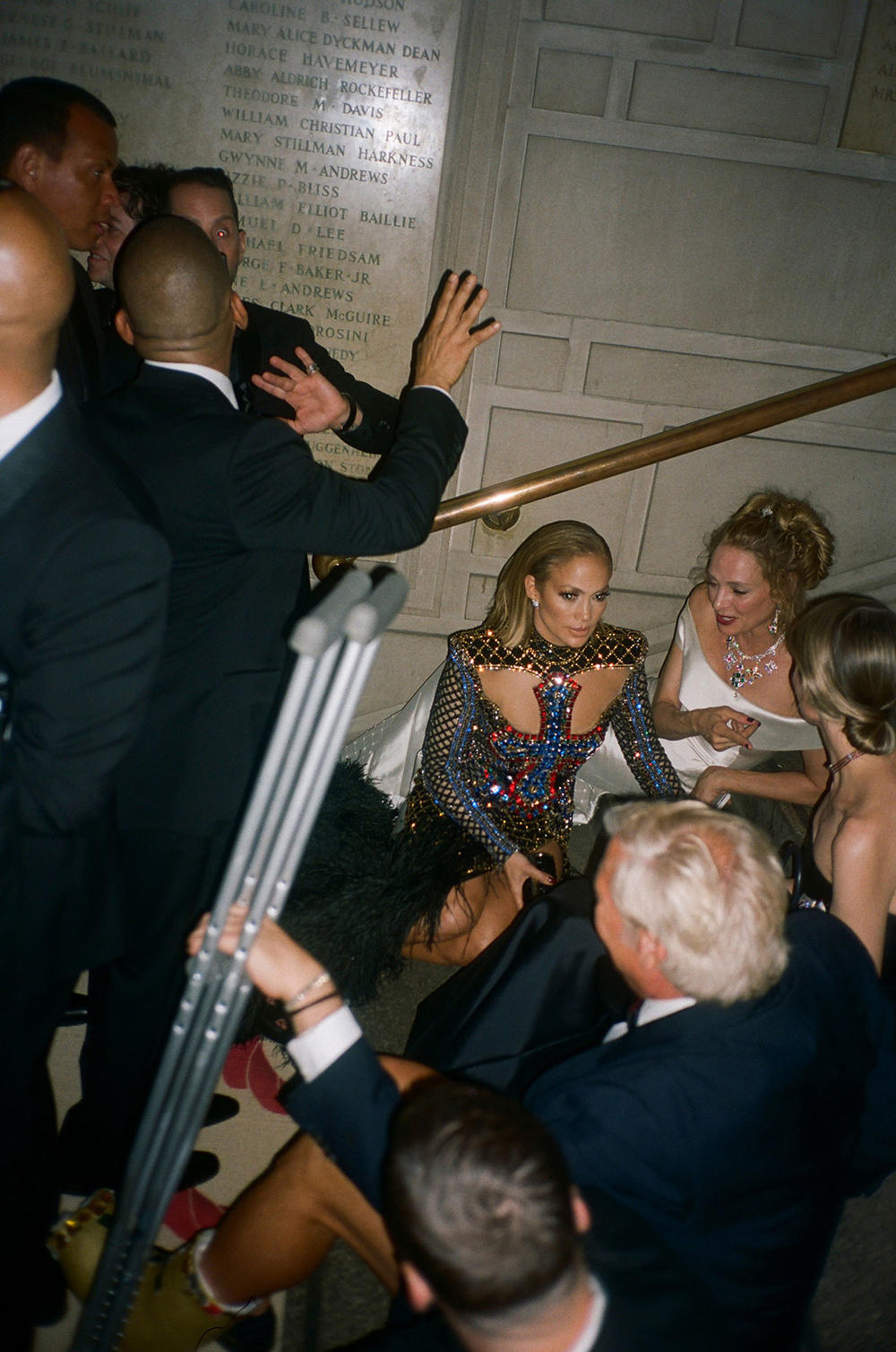 Met Gala 2018 Celebrities Candid Film Photo Jennifer Lopez