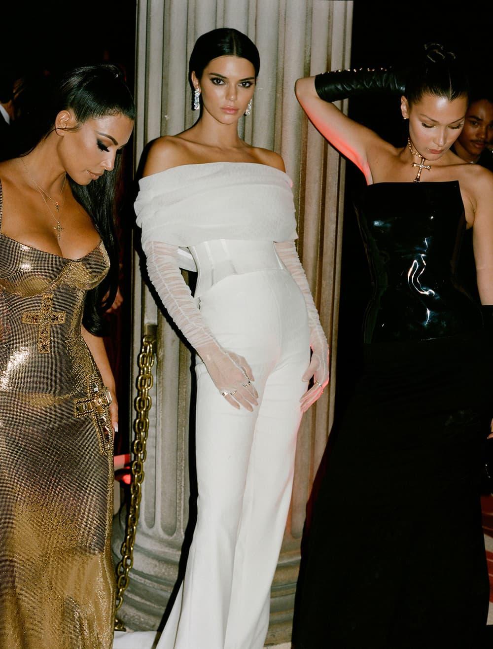 Met Gala 2018 Kendall Jenner Kim Kardashian Bella Hadid Film Photo