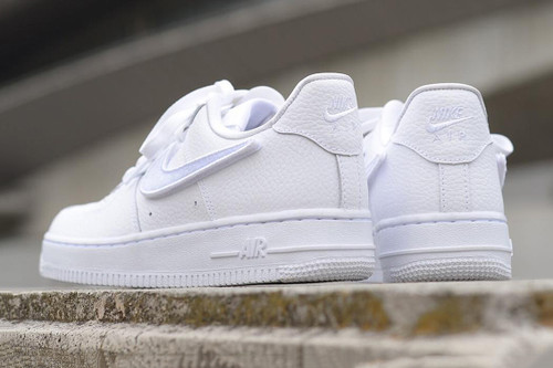 fd9493d94ba4d Nike s Air Force 1-100 Arrives With Interchangeable Swooshes