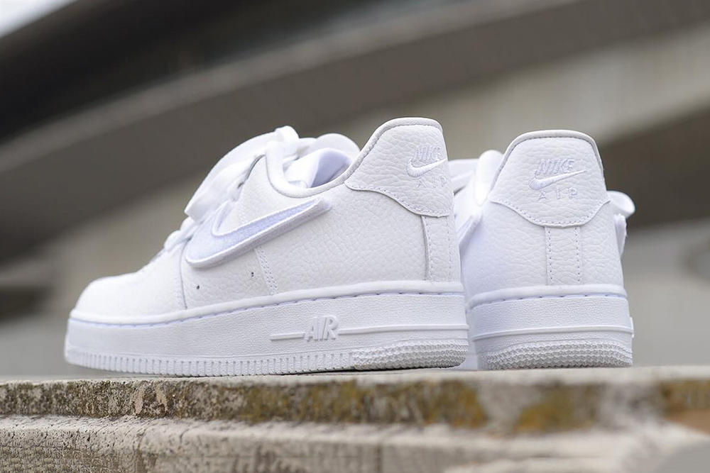 3bf104259ae Nike Air Force 1-100 with Interchangeable Swooshes