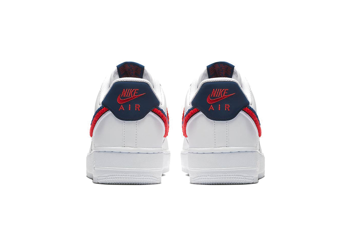 air force 1 low chenille swoosh