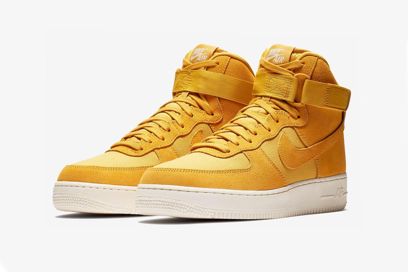 Nike's Air Force 1 Hi Suede Gets Three