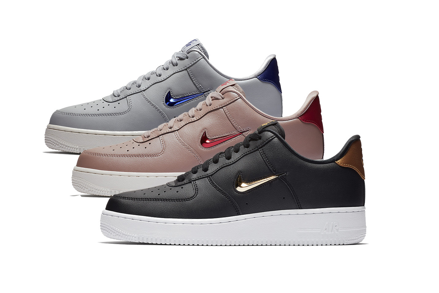 nike air force 1 small swoosh