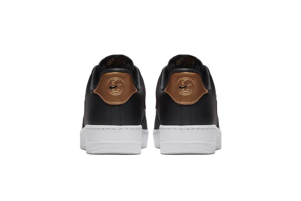 Nike Air Force 1 Low Jewel Blue Black Rose Gold Sneakers