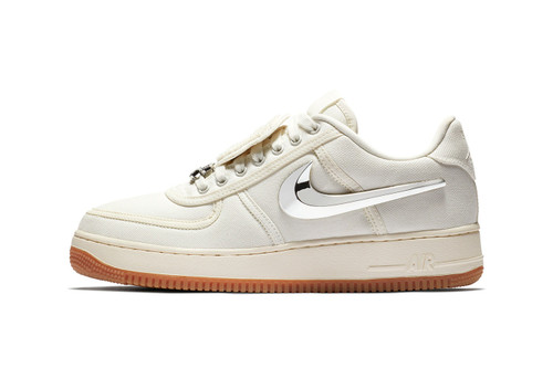 ee7b52f1f9a2ec Travis Scott s Nike Air Force 1 Low Gets a Luxe Update in