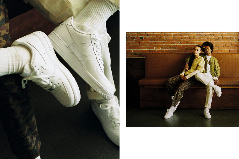 Nike Air Force 1 Styling Tips Livestock Editorial HUF Pleasures
