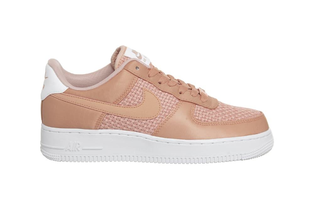 Nike Air Force 1 Peach Crimson Bliss Woven Sneaker