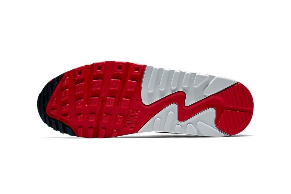 Nike Air Max 90 1 White Sport Red